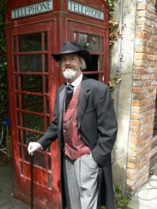 Costuming In Seattle_Sir Harry of Essex_ Phone box