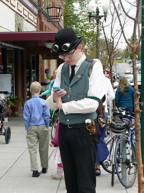 Steampunk in Fairhaven, WA