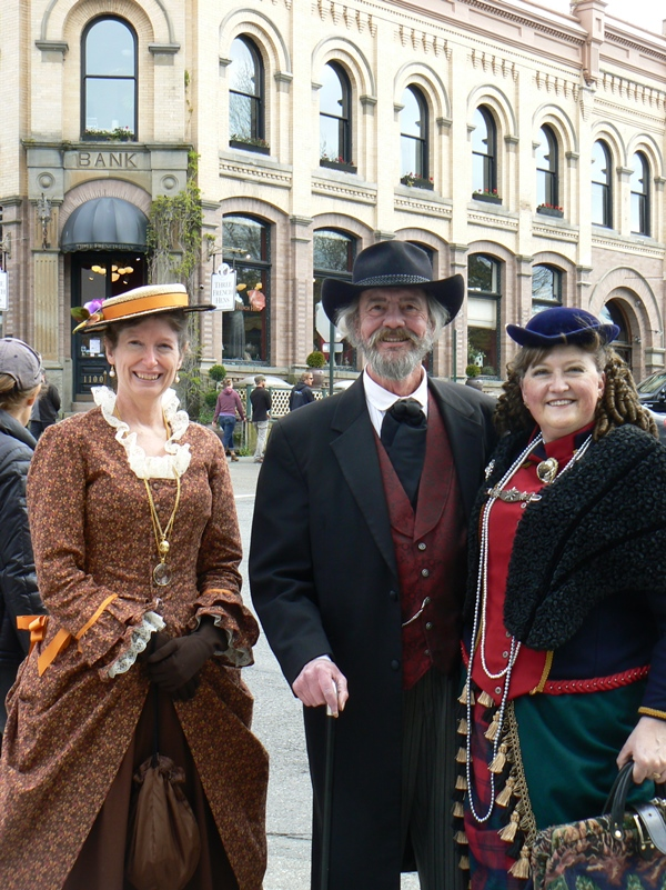 Victorians in Fairhaven, WA